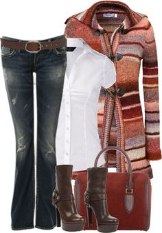 """White Shirt"" by melindatg on Polyvore"