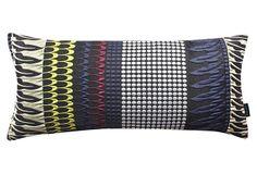 Cleopatra 22x9 Pillow, Navy on OneKingsLane.com