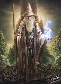 Merlín, el mago más poderoso de la historia, brujo común