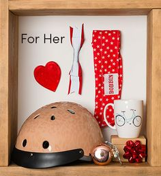 Lots of lovely gifts for Cycle Chic ladies; helmets, bells, mugs and pretty reflective things.Prices start from 4.95 Check our full gift range.