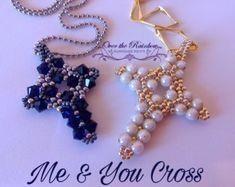PDF ME&YOU cross pendant di NicoleOverTheRainbow su Etsy