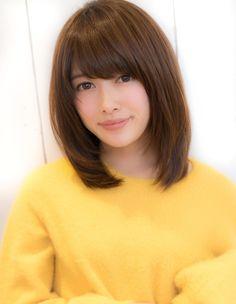 Haircuts With Bangs, Short Bob Hairstyles, Medium Hair Styles, Short Hair Styles, Hair 2018, Japanese Girl, Asian Beauty, Asian Girl, Hair Cuts