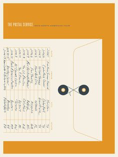 Jason Munn: The Postal Service Poster Series
