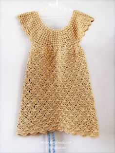 crochet baby dress, crochet pattern | make handmade, crochet, craft