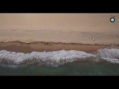 Drone SUP & Surf video  in Lagkouvardos, Messinia. Drone SUP βίντεο - πα...