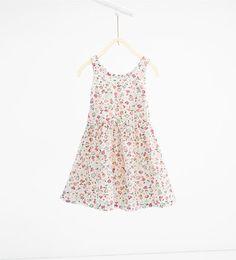ZARA - KIDS - Floral print lace dress