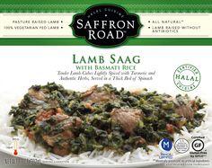 Saffron Road Lamb Saag Entree