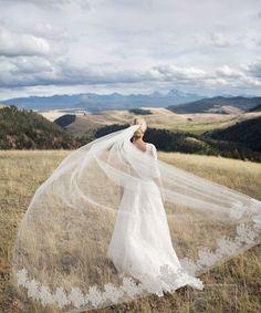 Beautiful wedding veil inspiration from Pinterest.