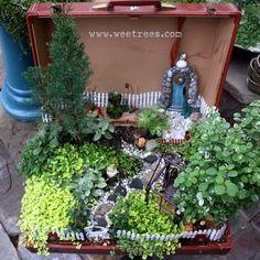 Thank you Samsonite ~ Fairy Garden will travel! <3