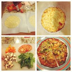 Thinkin Skinny, Eating Well : Cauliflower Pizza Recipe for Medifast