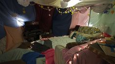 Awesome FORT from thrifted sheets