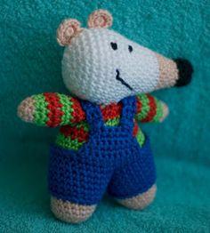 haakhooked: Gratis haakpatroon Maisy Mouse