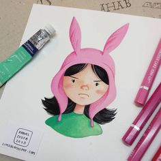 """I don't appreciate your lack of sarcasm"" - Louise Belcher, froms Bob's Burgers"