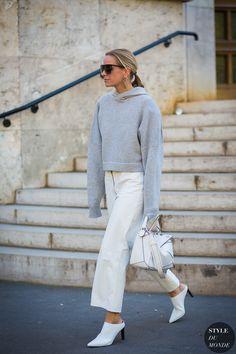 Paris SS 2017 Street Style: Celine Aagaard