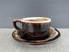 Boutique Etsy, Ajouter, Service, Voici, Etsy Vintage, Tea Cups, Mugs, Brown, Tableware