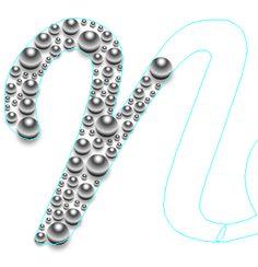 Create Beaded Metallic Text in Illustrator