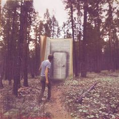 Narrative Teleportation: The power to teleport by writing down the target location's name. A combination of Teleportation and Literary Manipulation. May stem from Narration. (Amazing Conceptual Photography by Joel Robison)