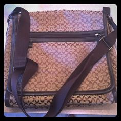 COACH Messenger Bag! NWOT Never used! Got it for Christmas and it hasn't seen the light of day! This bag deserves to be worn! All offers will be considered!! Coach Bags Crossbody Bags