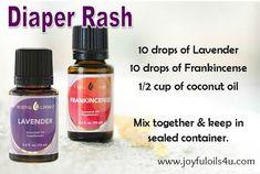 Young Living Essential Oils: Diaper Rash