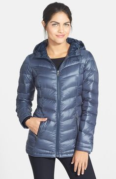 The North Face 'Loralei' Down Jacket available at #Nordstrom. 500 fill, 28 length