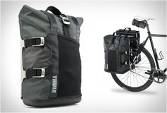 THULE COMMUTER PANNIER - For more great pics, follow www.bikeengines.com