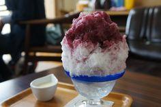 kyohou (grape) Kakigouri  shave ice