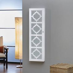 InnerSpace Designer Jewelry Armoire with Decorative Front, Multiple Colors - Walmart.com