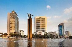 Bundaran HI Fountain (Jakarta City Center) Jakarta, Indonesia
