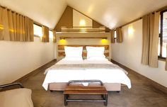 Stay at Desert Quiver Camp, Namibia - Self-catering Accommodation only from the entrance to Sossusvlei, Deadvlei & the Namib Desert! Village House Design, Village Houses, Free Couch, Sleeper Couch, Namib Desert, Bedroom With Ensuite, Quiver, Deserts, Camping