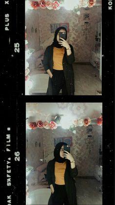 Cars wallpaper style ideas for 2019 Niqab Fashion, Muslim Fashion, Ootd Fashion, Fashion 2020, Fashion Outfits, Casual Hijab Outfit, Ootd Hijab, Hijab Chic, Hijabi Girl