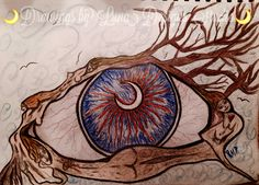 """Nature Drawings by Luna Designs Studio """"Let Luna Create A Beautiful Work Of Art For You or On You"""" #LoveMyLuna #drawing #custom #art"""