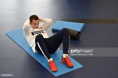 Marcelo Brozovic of FC Internazionale during the FC Internazionale training session at the club's training ground at Appiano Gentile on February 16, 2015 in Como, Italy.