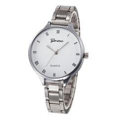 2017Fashion Women Crystal Stainless Steel Analog Quartz Wrist Watch Top Brand quartz wristwatch Relojes Mujer Fashion Lady Watch #Affiliate