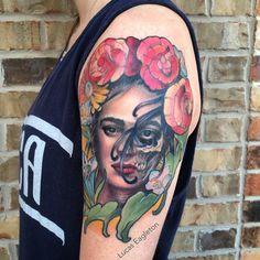 frida kahlo tattoo skull - Buscar con Google