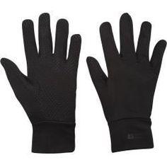 Mountain Herren Warehouse Grippi Gefütterte Handschuhe Fleece M Winter Schwarz