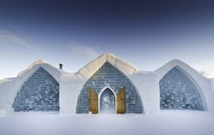 Amazing ice hotels from around the world