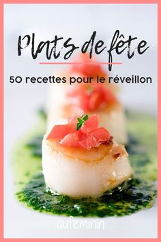 50 recettes pour un réveillon ultra festif Are you looking for inspiration for cooking for Christmas or New Year? Here are 50 recipes with festive dishes for all gourmets! Pizza Hut, Holiday Desserts, Holiday Recipes, Beignets, Christmas Dinner Menu, Christmas Eve, New Years Eve Dinner, Buttercream Recipe, Brunch