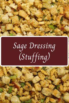Thanksgiving Sage Dressing
