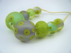 Moogin beads Lampwork / glass bead set - SRA Homemade Cosmetics, Glass Etching, Lampwork Beads, Glass Beads, Homemade Beauty Products