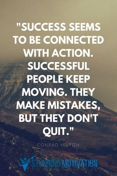 The more action you take, the more results you are going to get. And the more results you get, the more successful you will be. So take massive and consistent action each day, my friend.