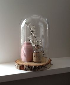 wonderful way to display some Christmas globes using the past years xmas tree cuttings I've saved.