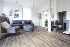 Wooden Flooring, Hardwood Floors, White Oak Floors, House Design, Couch, Living Room, Inspiration, Furniture, Home Decor