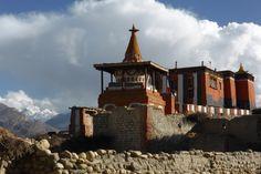 Upper Mustang Trek, das Kloster von Tsarang