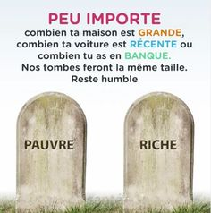 #citation #importe #combien #maison #grande #voiture #recente #banque #taille #rester #humble #pauvre #riche #tombale #pierre #mort Hadith, Islamic Quotes, Saint Coran, Healthy Facts, Allah, Peace And Love, Philosophy, Religion, Like4like
