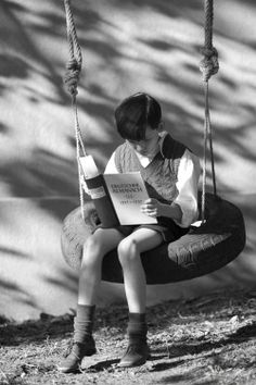 df8ba983d8 z- Asa Butterfield Studying on Swing-  Boy in the Striped Pajamas