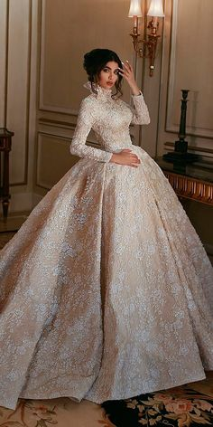 30 Ball Gown Wedding Dresses Fit For A Queen 0cbbedd16330