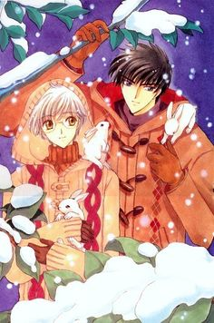 CardCaptor Sakura ~~ My favorite CCS couple spends a winter day together