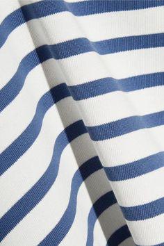 A.P.C. Atelier de Production et de Création - Dream Striped Cotton Top - Blue - x small