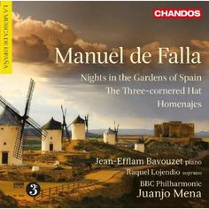 De Falla: Nights in the Gardens of Spain; The Three-Cornered Hat; Homenajes: Bavouzet,De Falla,Mena,BBC Philharmonic Orchestra
