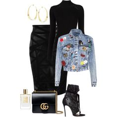 A fashion look from September 2016 featuring Misha Nonoo sweaters, Alice + Olivia jackets and Versace skirts. Browse and shop related looks.